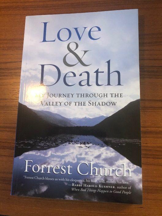 <center>Forrest Church's Love & Death</center>