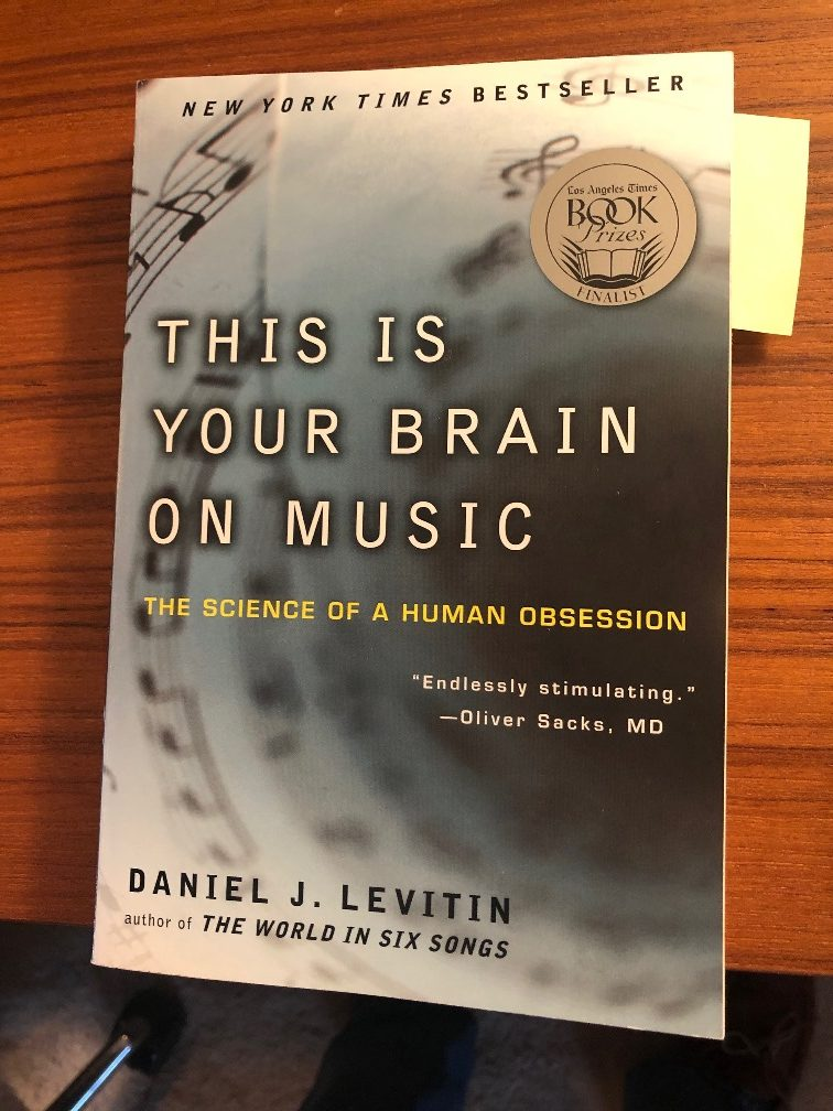 <center>Levitin's This is Your Brain on Music</center>