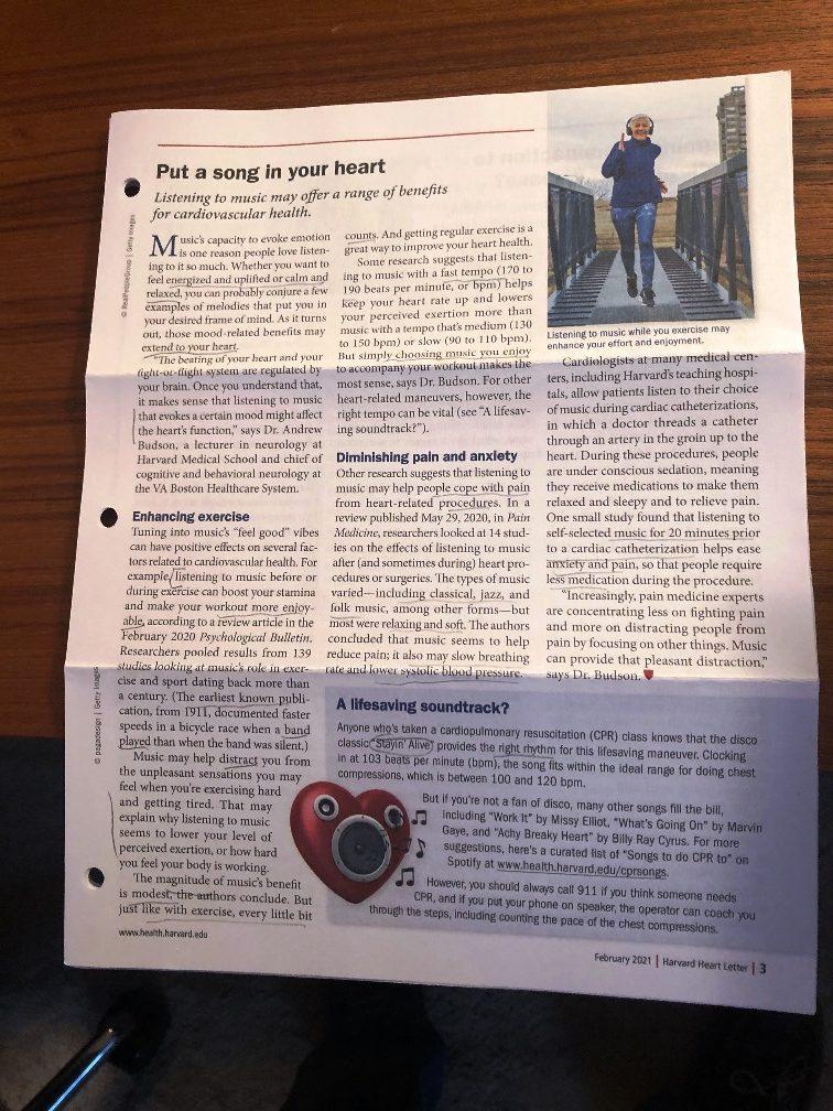 <center>Harvard Heart Letter, Feb. 2021</center>