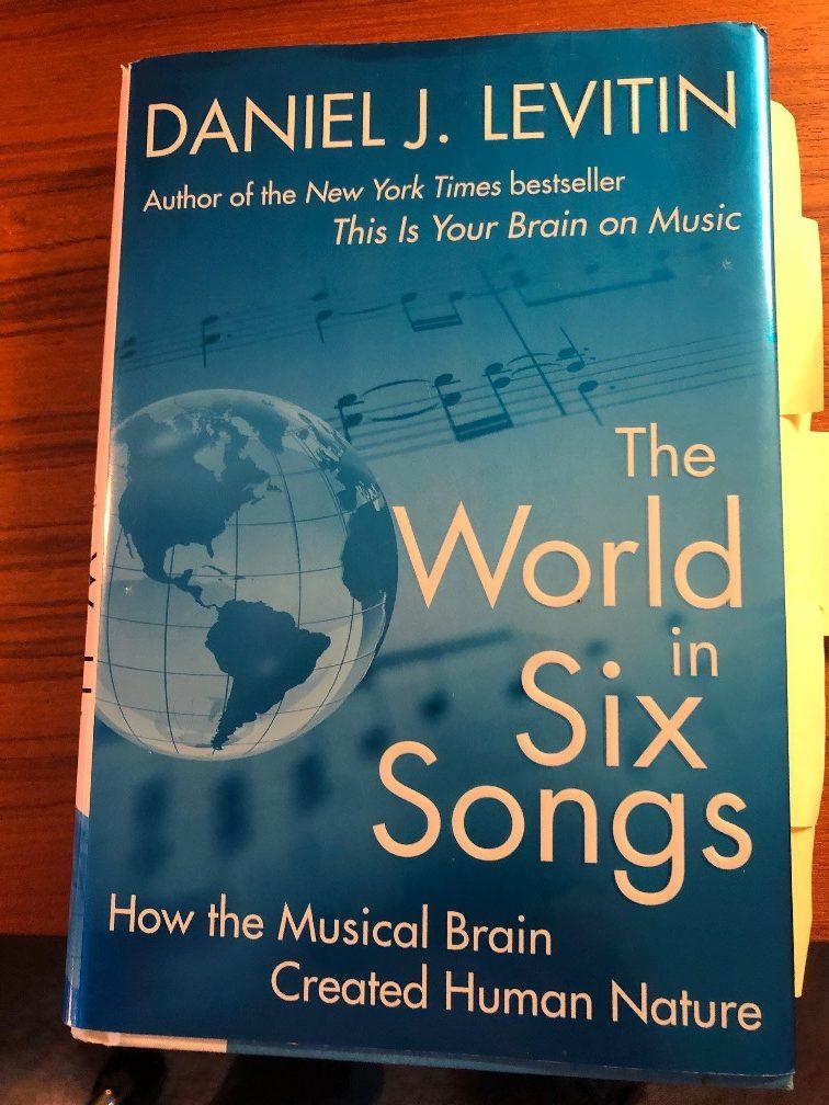 <center>Levitin's The World in Six Songs</center>