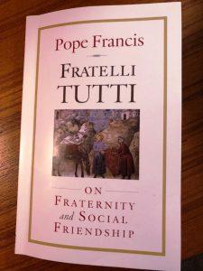 <center>Pope Francis' Fratelli Tutti</center>